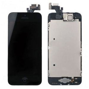 iPhone 5 with Small Parts (Quality Aftermarket) Replacement - Black