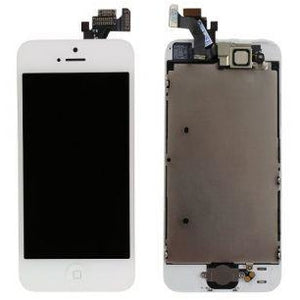 iPhone 5 with Small Parts (Quality Aftermarket) Replacement - White