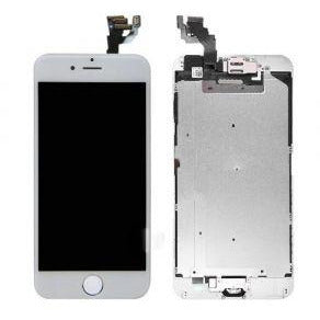 iPhone 6 with Home Button Gold, Small Parts (Quality Aftermarket) Replacement - White
