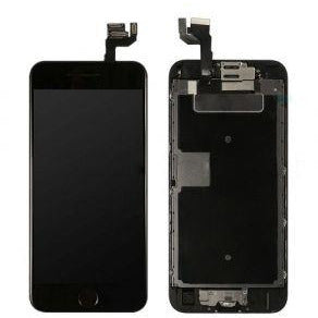 iPhone 6S with Home Button Black, Small Parts (Quality Aftermarket) Replacement - Black