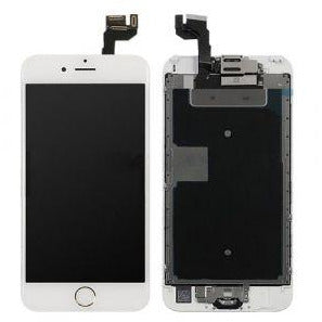 iPhone 6S with Home Button Gold, Small Parts (Quality Aftermarket) Replacement - White