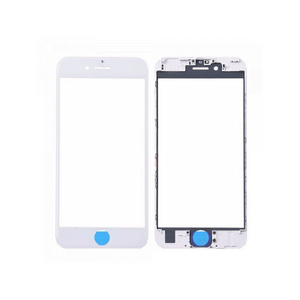 iPhone 6S Front Glass with Frame - White