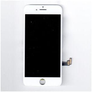 iPhone 8 / SE (2020) (Premium Plus - MPP) Replacement Part with Metal Plate - White
