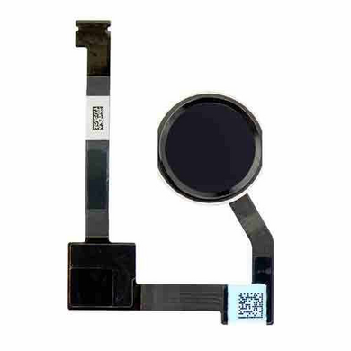 iPad Air 2 Home Button with Flex Cable Replacement Part - Black