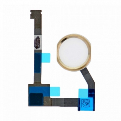 iPad Air 2 Home Button with Flex Cable Replacement Part - Gold