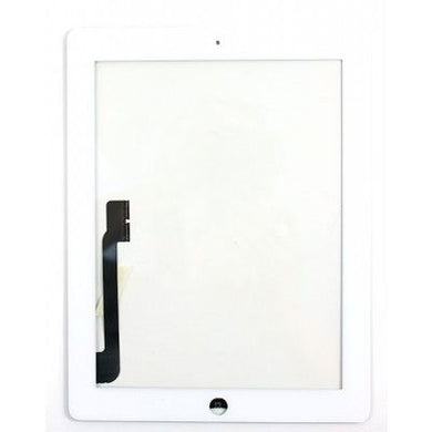 iPad 3/4 (HQC) Digitizer Replacement Part with Small Parts - White