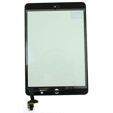 iPad Mini (HQC) Digitizer IC + CameraPlate with Home Button - Black