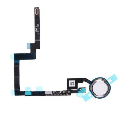 iPad Mini 3 Home Button with Flex Cable - White