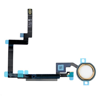 iPad Mini 3 Home Button with Flex Cable - Gold