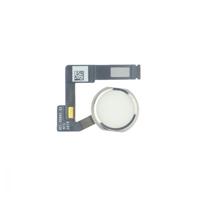 iPad Pro 12.9 Home Button with Flex Cable - White