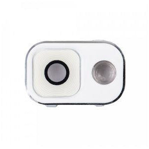 Samsung Note 3 Cover and Lens for Rear Camera - White