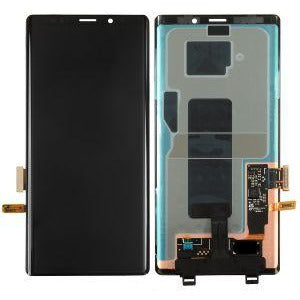 Samsung Note 9 without Frame Replacement Part - Black