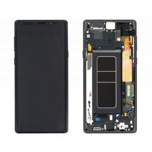 Samsung Note 9 (with) Frame Replacement Part - Black