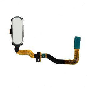 Samsung S7 Home Button with Flex Cable - White