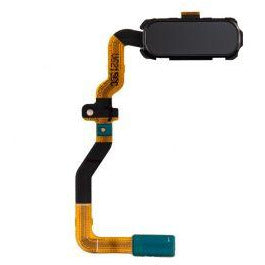 Samsung S7 Home Button with Flex Cable - Black
