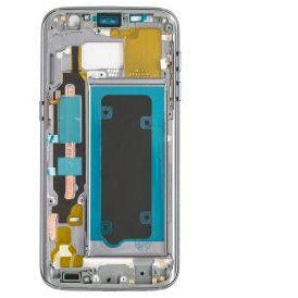 Samsung S7 Rear Housing with Small Parts - Black