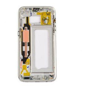 Samsung S7 Rear Housing with Small Parts - White
