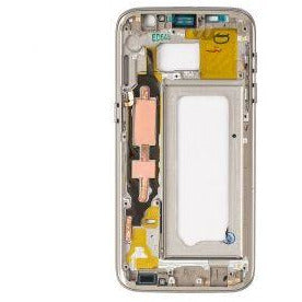 Samsung S7 Rear Housing with Small Parts - Gold