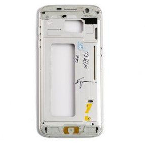 Samsung S7 Edge Housing with Small Parts - Silver