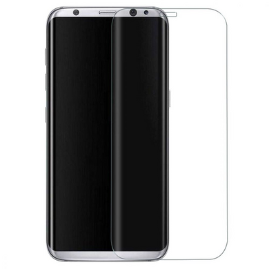 Samsung S8 Tempered Glass Screen Protector) (without Packaging)
