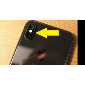 iPhone XS Max / XS / XR / X / 8+ to 5 Series Cracked Rear / Back Camera Glass Repair | Mail-in Service