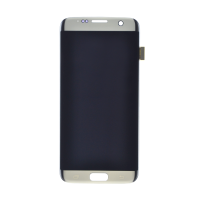 Samsung S7 Edge without Frame Replacement Part - White (NO LOGO)