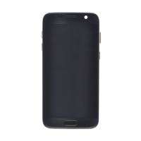 Samsung S7 without Frame Replacement Part - Black (NO LOGO)