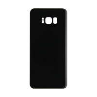 Samsung S8 Plus Back Cover - Black (NO LOGO)