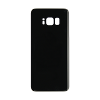 Samsung S8 Back Cover - Black (NO LOGO)