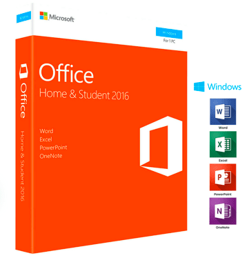 Microsoft Office Home and Student 2016 Windows - Instant Delivery - Original Key! - Digibeyk