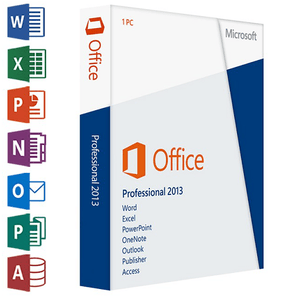 Microsoft Office Professional Plus 2013 - MS Office PRO - Original NEW Key Code! - Digibeyk