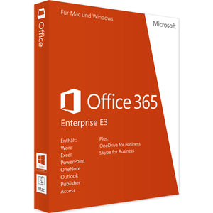 Microsoft Office 365 Enterprise E3 - 1Year - 5Users - 25 Devices - INSTANT DELIVERY - ORIGINAL NEW KEY CODE! - Digibeyk