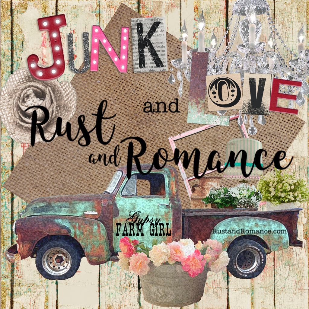 Junk and Love  - Rust and Romance