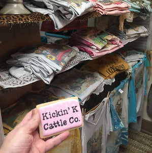 Find us the NEW Kickin' K Cattle Co Boutique!