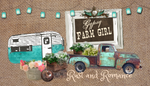 Rust and Romance by Gypsy Farm Girl