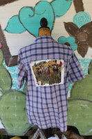 Medium Hangin' with my Heifers Distressed Shirt, Cows and Flowers, JE271