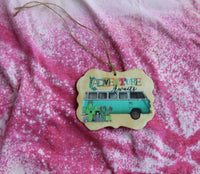 Adventure Awaits Vehicle DIY Car Air Fresheners for Essential Oils or Perfumes