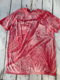 Texas Snow Bleached Tees-Rust and Romance