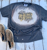 New Year, Same Hot Mess bleached tee shirt-graphic t shirts-Gypsy Farm Girl