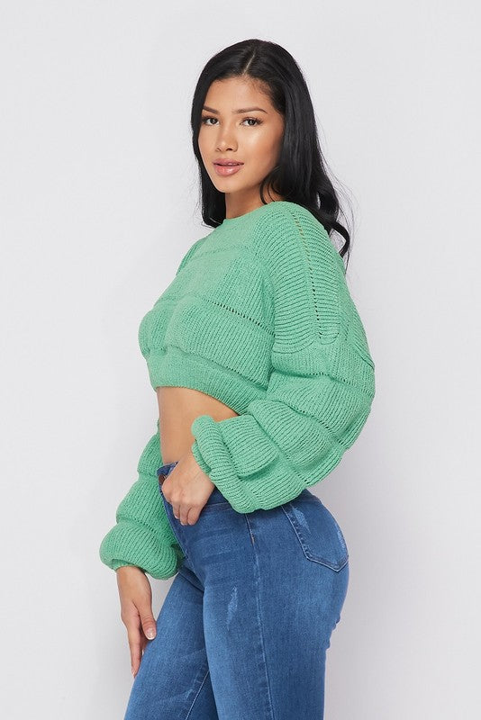 Hera Crop Sweater