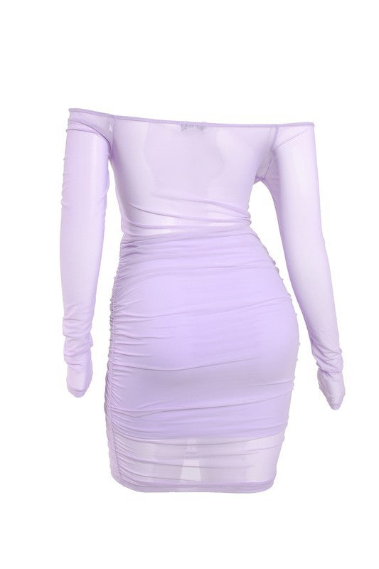 Karina Lavender Dress