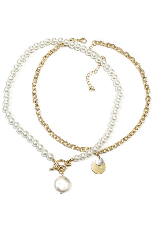 Love Pearl Perfect Pair Necklace