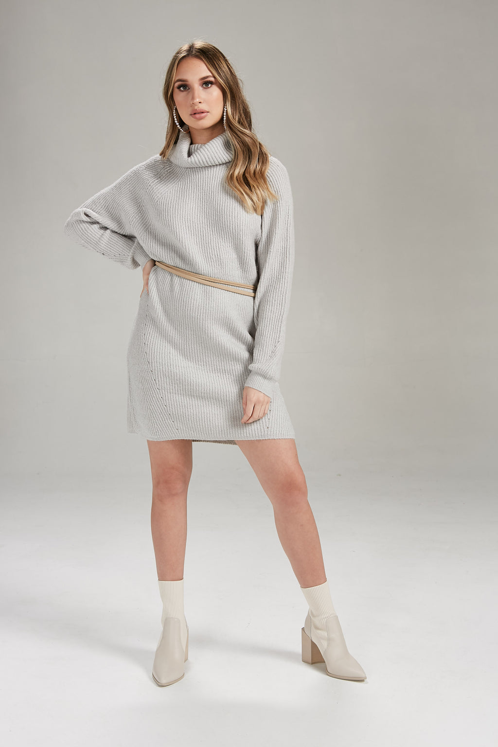 Light As A Feather Knit Sweater Dress