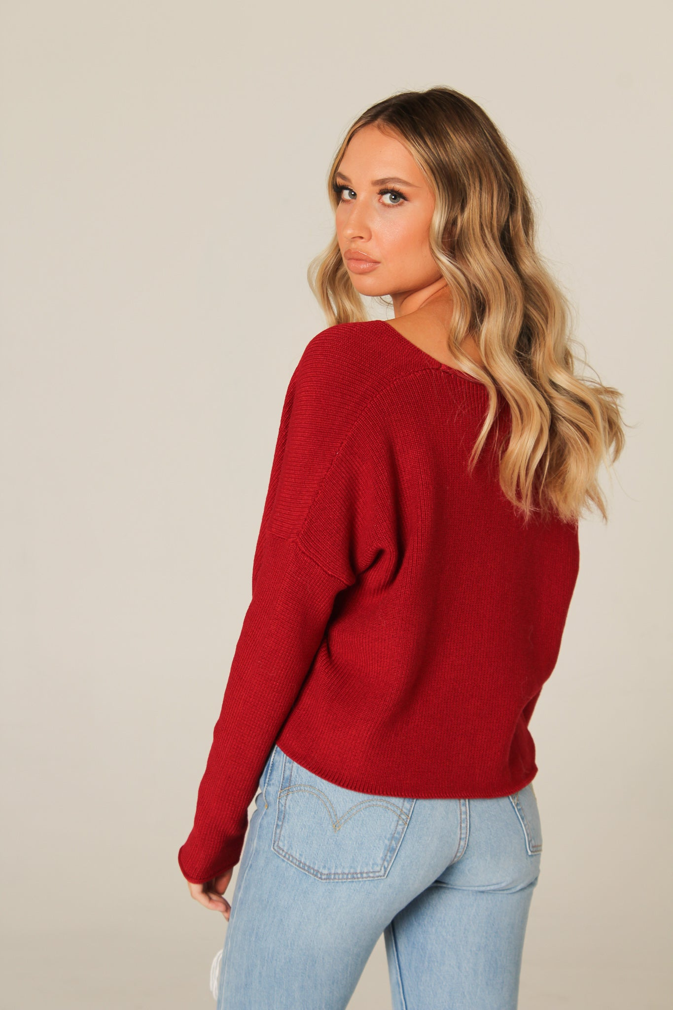 The Val Crop Sweater