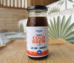 Mt. Apo, Davao - Medium Roast Cold Brew Coffee (240ml)