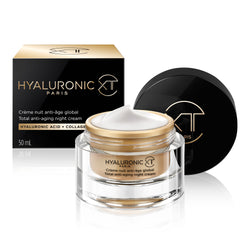 Crème nuit anti-âge global à l'Acide Hyaluronique & Collagène - 50ml