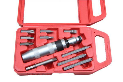 Bergen Heavy Duty 11pc Impact Driver Set B1501
