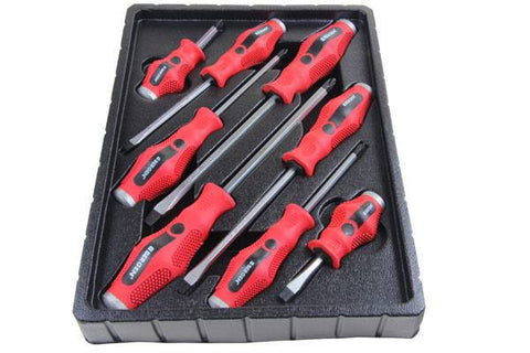 Bergen 8PC GO-THRU SCREWDRIVER SET B1507