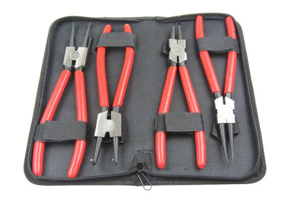 "Bergen 4PC 9"" CIRCLIP PLIERS SET Snap Ring Pliers Internal External B1727"