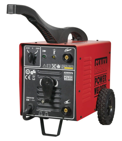 Sealey Arc Welder 250Amp with Accessory Kit 250XTD